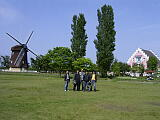 風車村風景